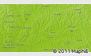 Physical 3D Map of Rincón de Vidal