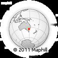 Outline Map of Illabo, rectangular outline