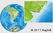 Physical Location Map of La Paloma