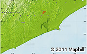 Physical Map of La Paloma