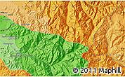Political Map of La Placilla