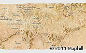 Satellite 3D Map of Tiaret