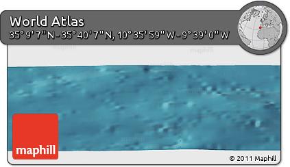 "Satellite Panoramic Map of the Area around 35°24'37""N,10°7'30""W"