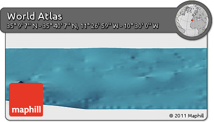 "Satellite Panoramic Map of the Area around 35°24'37""N,10°58'29""W"