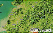 "Satellite Map of the area around 35°24'37""N,126°43'29""E"
