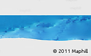 """Physical Panoramic Map of the area around 35°24'37""""N,12°40'30""""W"""