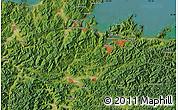 "Satellite Map of the area around 35°24'37""N,135°13'29""E"