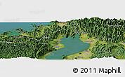 "Satellite Panoramic Map of the area around 35°24'37""N,136°4'29""E"