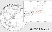 Blank Location Map of Mine