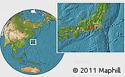 Satellite Location Map of Mine