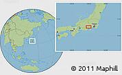 Savanna Style Location Map of Mine
