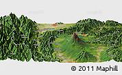 "Satellite Panoramic Map of the area around 35° 24' 37"" N, 138° 37' 30"" E"