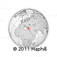 """Outline Map of the Area around 35° 24' 37"""" N, 29° 49' 30"""" E, rectangular outline"""