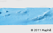 """Physical Panoramic Map of the area around 35°24'37""""N,29°49'30""""E"""