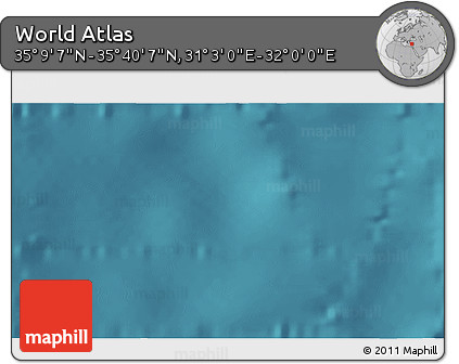 """Satellite 3D Map of the Area around 35°24'37""""N,31°31'29""""E"""