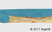 "Satellite Panoramic Map of the area around 35°24'37""N,33°13'30""E"