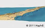"Satellite Panoramic Map of the area around 35°24'37""N,34°4'30""E"
