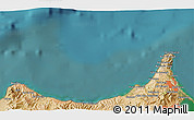 Satellite 3D Map of Melilla