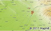Physical Map of Abū Kharjah