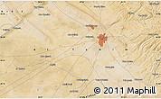 Satellite Map of Abū Kharjah