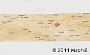 Satellite Panoramic Map of Kirkuk