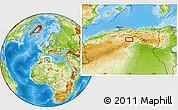 Physical Location Map of Aït Sidi Ahmed Ou Ali