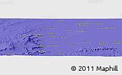 Political Panoramic Map of Mechta Ben Mehdi