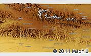 Physical 3D Map of Kāshmar