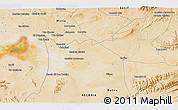 Satellite 3D Map of 'Aïn Khadra