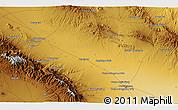 Physical 3D Map of Torbat-e Jām