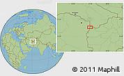 Savanna Style Location Map of Chenārak (2)
