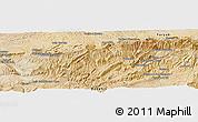 Satellite Panoramic Map of Shamīrah