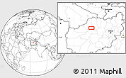 """Blank Location Map of the area around 35°24'37""""N,65°31'30""""E"""