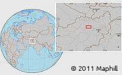 Gray Location Map of `Alā od Dīn