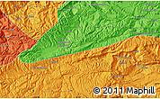 Political Map of `Alā od Dīn