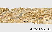 Satellite Panoramic Map of `Alā od Dīn