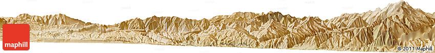 Satellite Horizon Map of Āb Khvorak-e Bālā