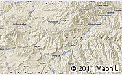 Shaded Relief Map of Ālūcheh