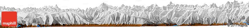 Physical Horizon Map of Kepchun Brok