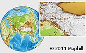 Physical Location Map of Khorkondus
