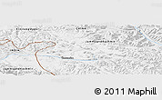 Physical Panoramic Map of Tianwendian