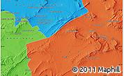 Political Map of Mechtat Ouled Yahia