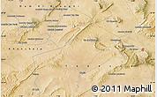 "Satellite Map of the area around 35°24'37""N,7°43'29""E"