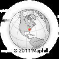 Outline Map of Elizabeth City, rectangular outline