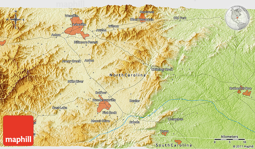 Physical 3D Map of Asheville on map of wingate university, map of lenoir city, map of matthews, map of buncombe county, map of brookings, map of beatrice, map of kenansville, map of otto, map of great smoky mountain railroad, map of chimney rock state park, map of whiteville, map of burgaw, map of easley, map of shaw university, map of north palm beach county, map of eatonton, map of cornelia, map of carlinville, map of kernersville, map of north carolina,