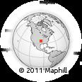 Outline Map of 376100 E 1000 Rd, rectangular outline