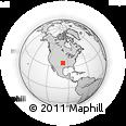 Outline Map of 13600 N Blackwelder Ave, rectangular outline