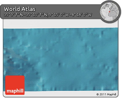 """Satellite 3D Map of the Area around 35°24'37""""N,9°16'30""""W"""