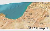 Satellite 3D Map of Mostaganem