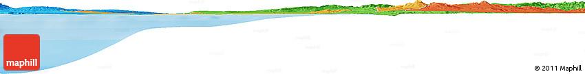 Political Horizon Map of Mostaganem